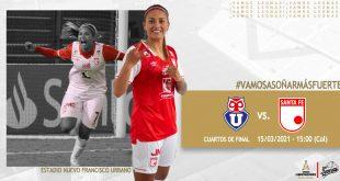 Ficha del partido – Universidad de Chile vs #Leonas Santa Fe (Col) – 15.03.2021