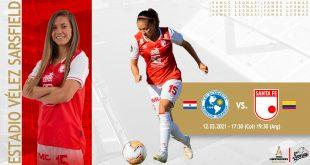 Ficha del partido – Sol de América (Par) vs Independiente Santa Fe (Col) – 12.03.2021