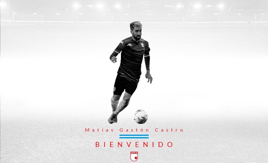 Matías Gastón Castro, nuevo delantero del León - Independiente Santa Fe